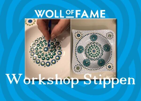 workshop stippen op 13 april